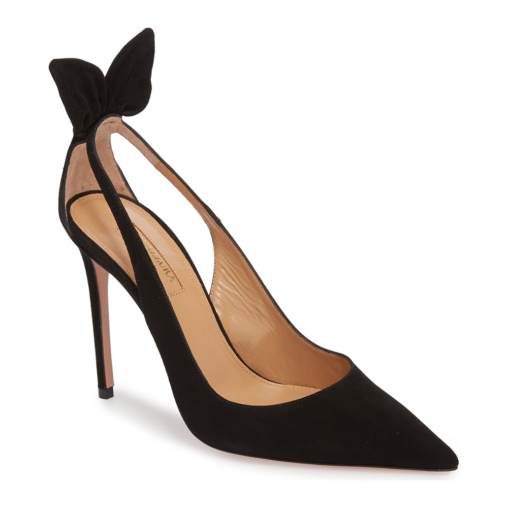 Aquazzura Deneuve Pumps-Meghan Markle
