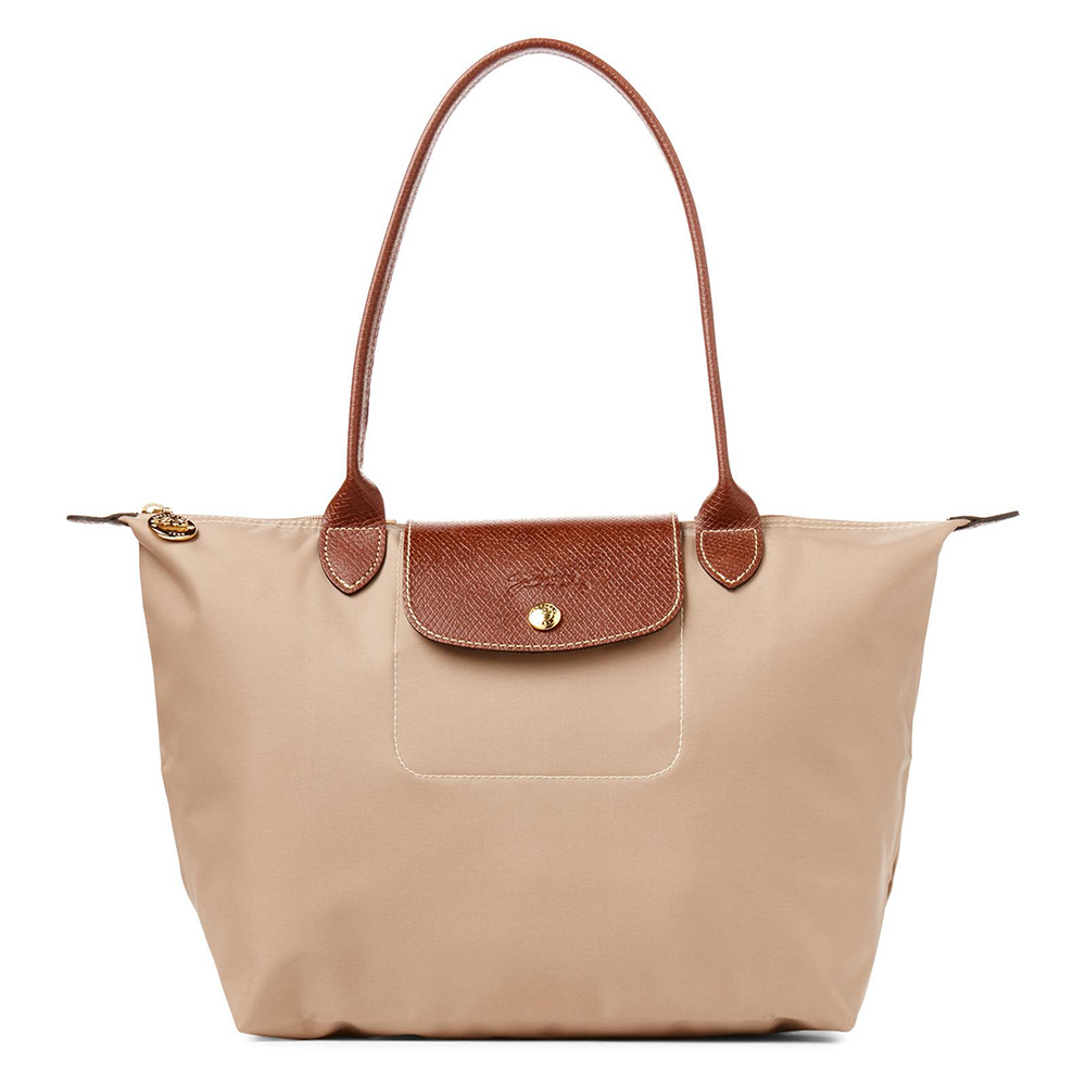 Long Champ Tote Small-Beige-Meghan Markle