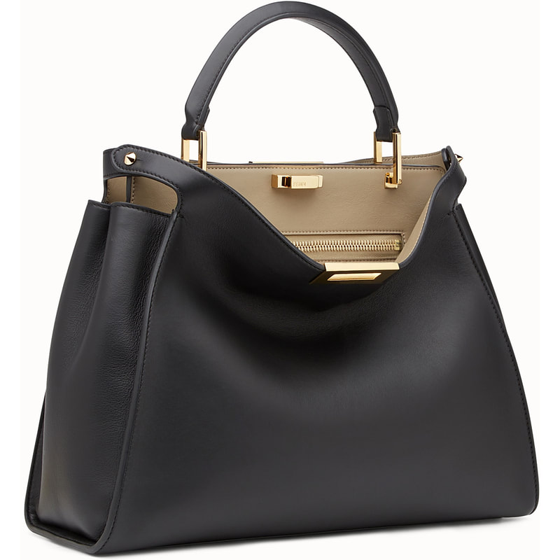 Fendi Peekaboo Black Handbag-Meghan Markle - Dress Like A Duchess 5b0ea2e217f30