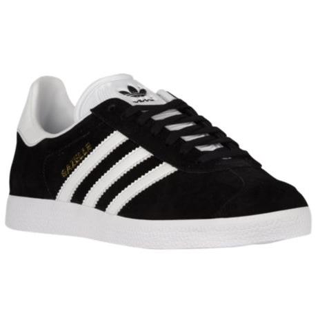 Adidas Gazelle Black Suede Sneakers-Meghan Markle