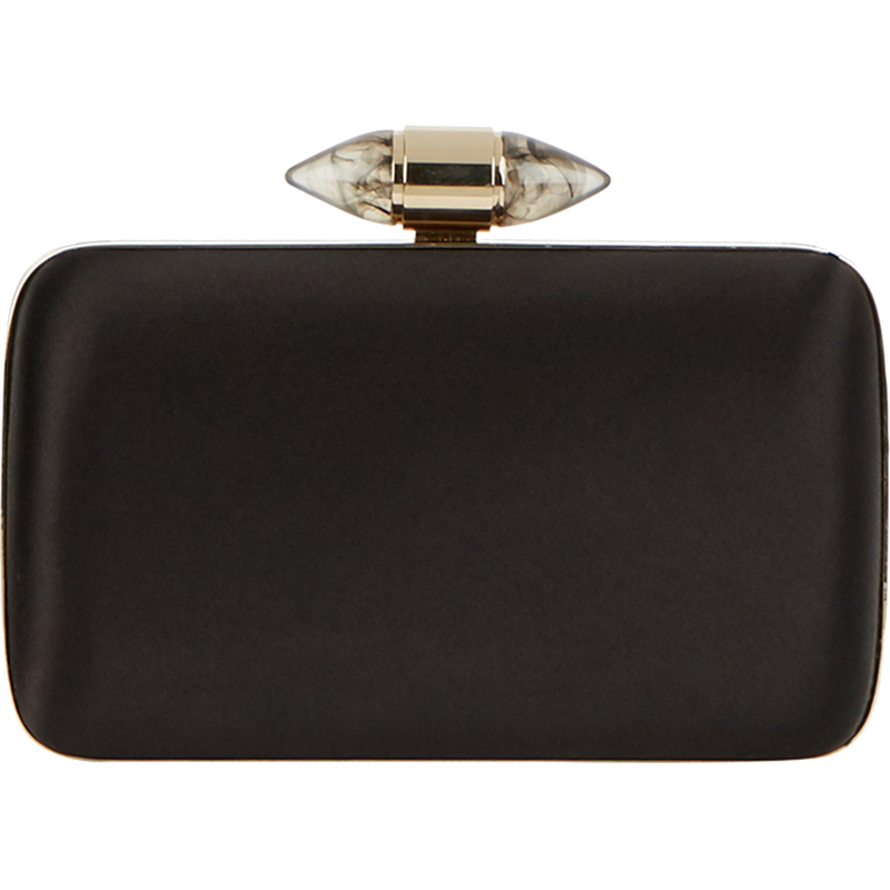 Givenchy Satin Clutch with Jewelry Clasp-Meghan Markle