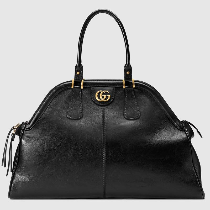 Gucci RE(BELLE) Black Top Handle Bag-Meghan Markle
