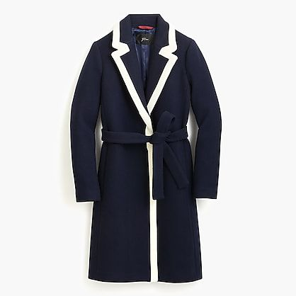 J. Crew Navy Stadium Coat-Meghan Markle