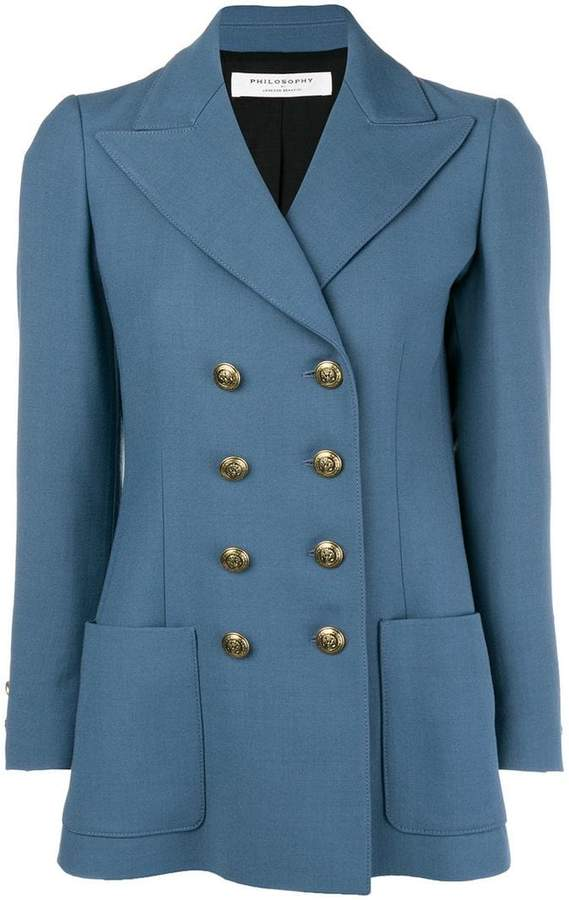 Philosophy Blue Blazer