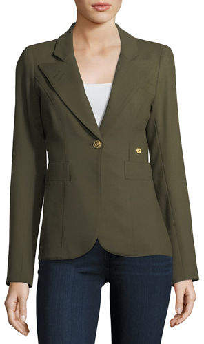 Smythe 'Duchess Blazer'- Green(Army)-Kate Middleton
