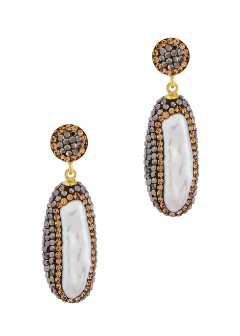 Soru Baroque Pearl Earrings-Royal Fashion