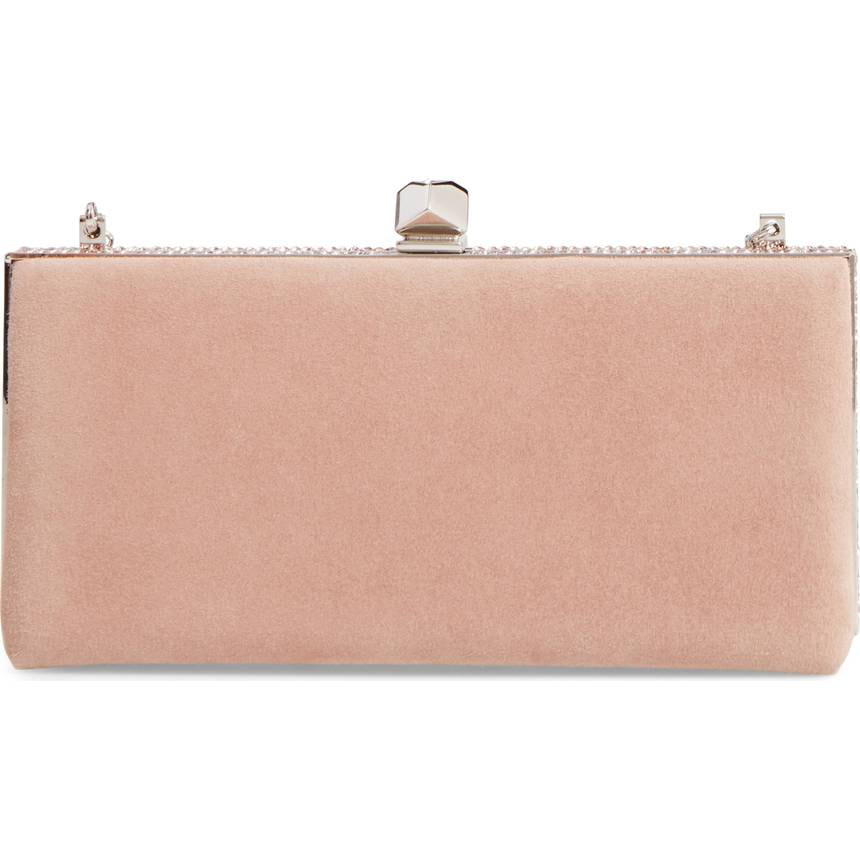 Jimmy Choo 'Celeste' Pink Clutch-Royal Fashion