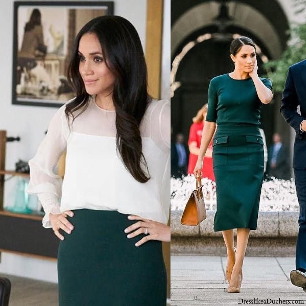 8 Times Meghan Markle Borrowed Style Inspo From Rachel