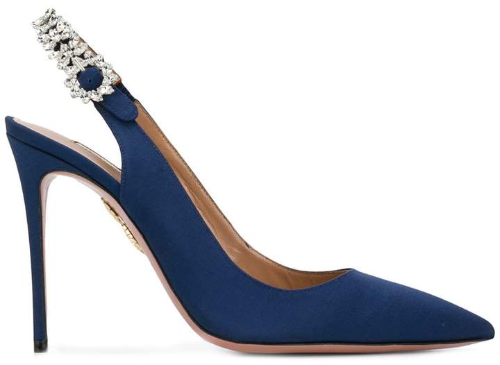 Aquazzura 'Portrait of a Lady' Pumps-Meghan Markle