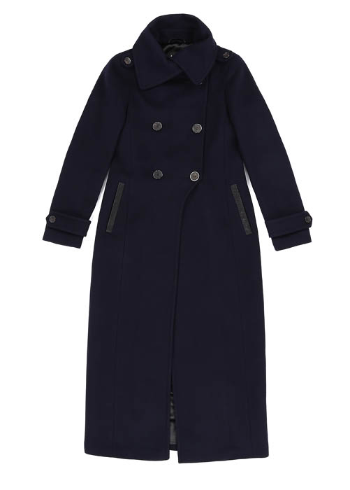 Mackage Elodie Military Wool Coat-Meghan Markle