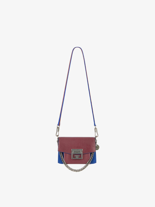 Givenchy GV3 Small Grained Leather and Suede Bag-Meghan Markle