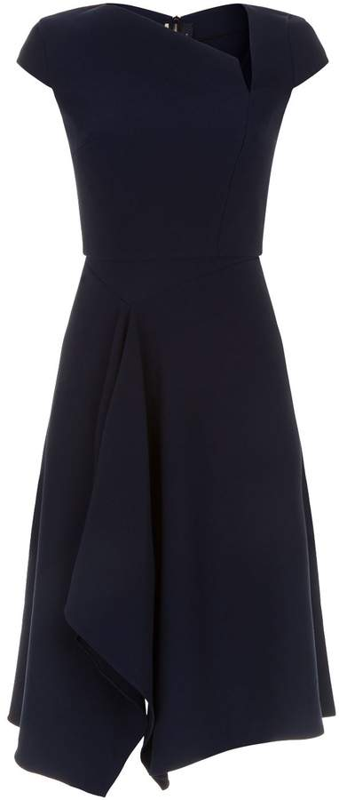 Roland Mouret Navy Dress-Meghan Markle