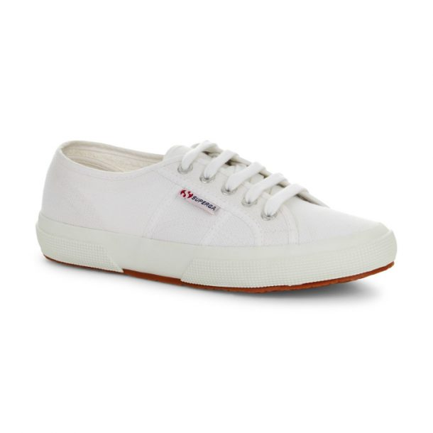 Superga 2750 Cotu Classic White Sneakers-Kate Middleton