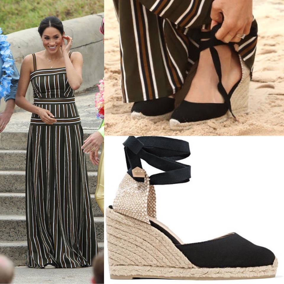 e0ba27e9fa9 Castaner Carina Canvas Wedge Espadrilles-Meghan Markle - Dress Like ...