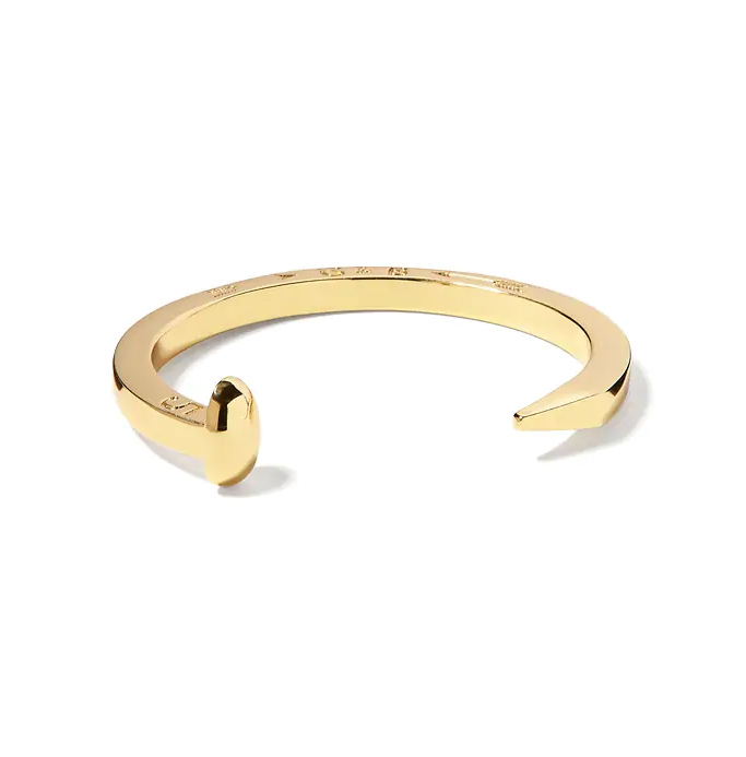 Giles & Brother Railroad Cuff Bracelet-Meghan Markle