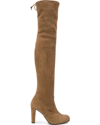 Stuart Weitzman Highland Suede Boots-Meghan Markle