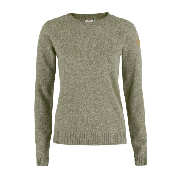 Fjallraven 'Ovik' Re-Wool (Frost Green) Sweater-Kate Middleton