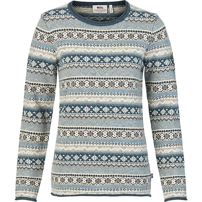 Fjallraven-Women's Ovik Folk Knit Sweater-Kate Middleton