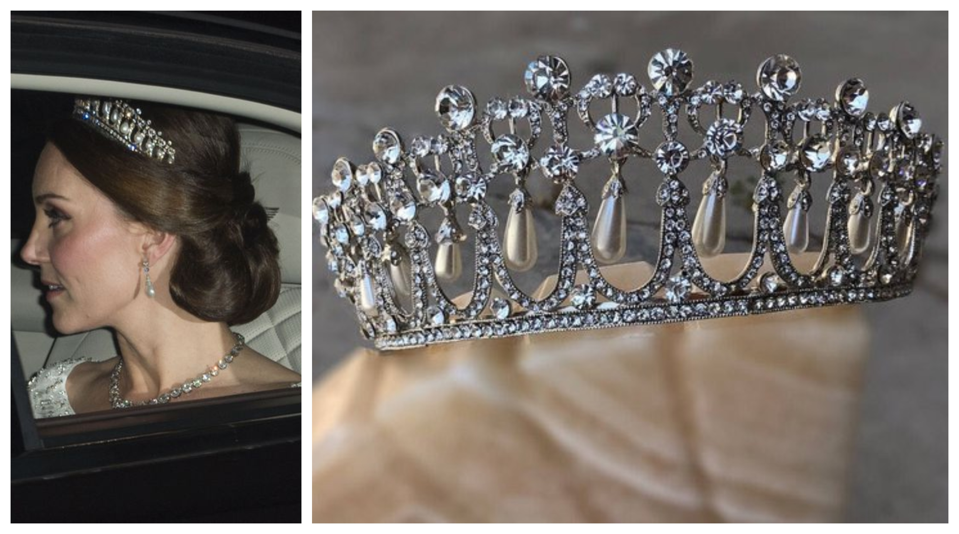 Cambridge 'Lover's Knot Tiara'-Kate Middleton