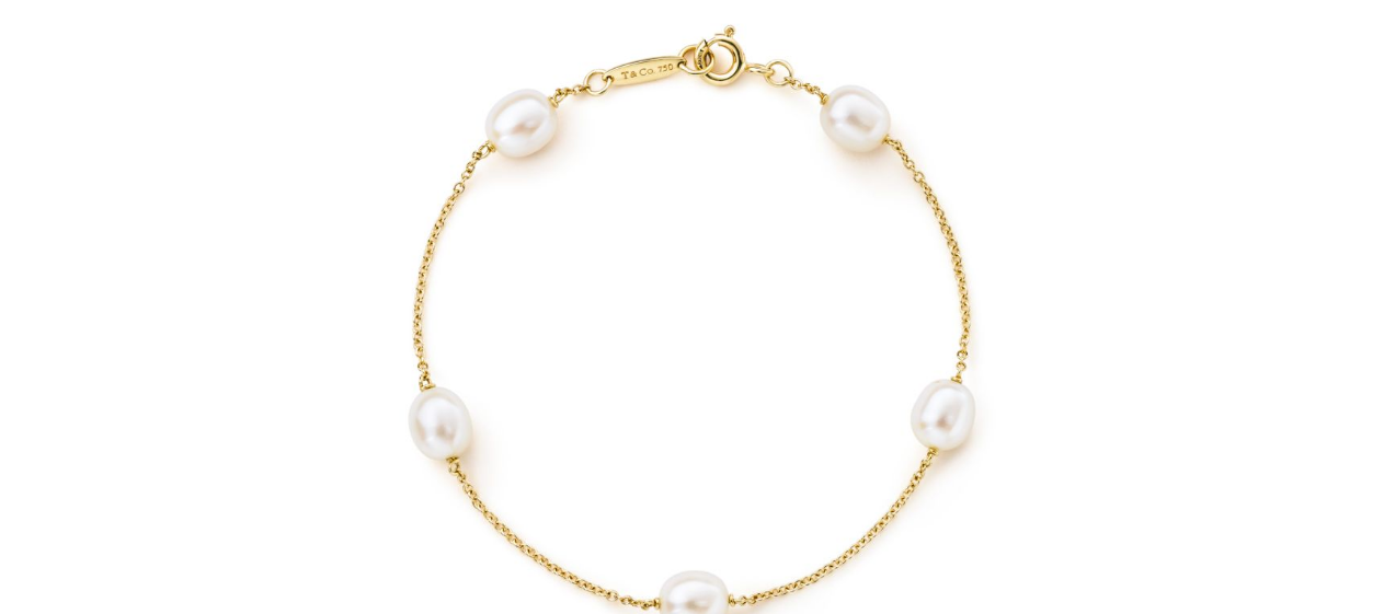 Tiffany-Elsa Peretti 'Pearls by the Yard' Bracelet-Kate Middleton