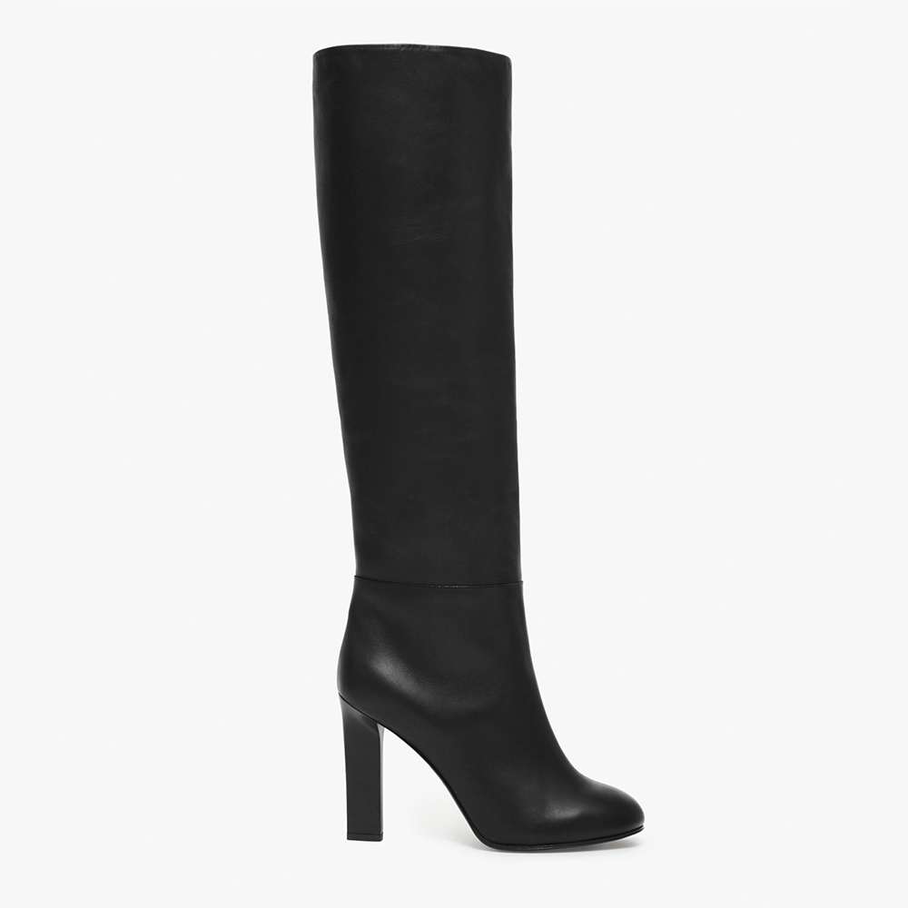 Victoria Beckham Leather Knee High Boots-Meghan Markle
