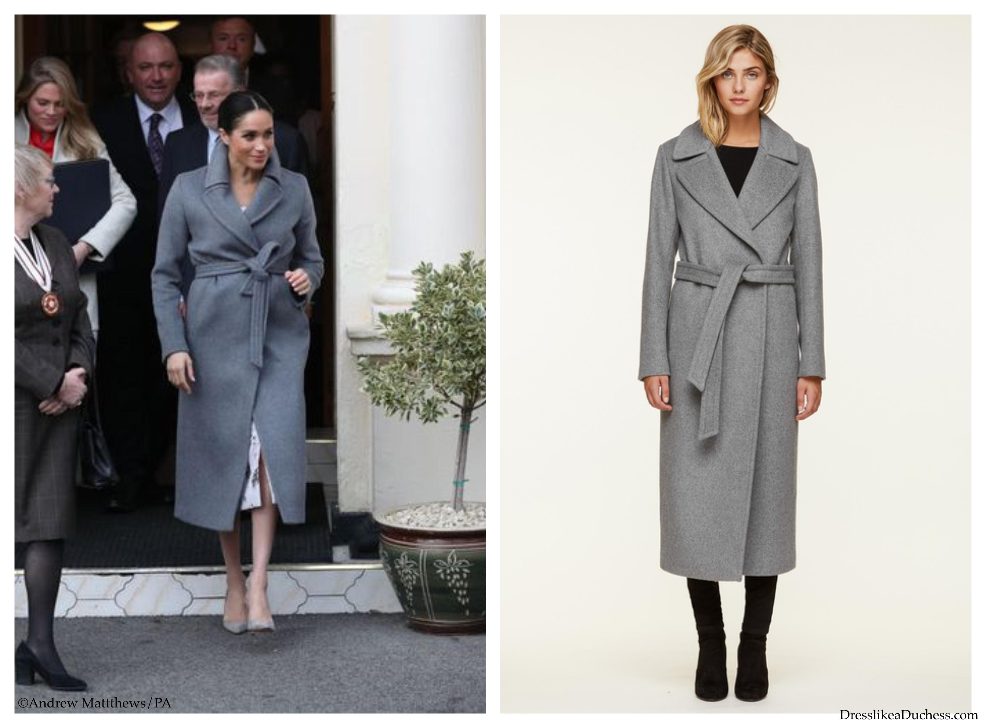 Soia & Kyo 'Adelaida' Coat-Meghan Markle