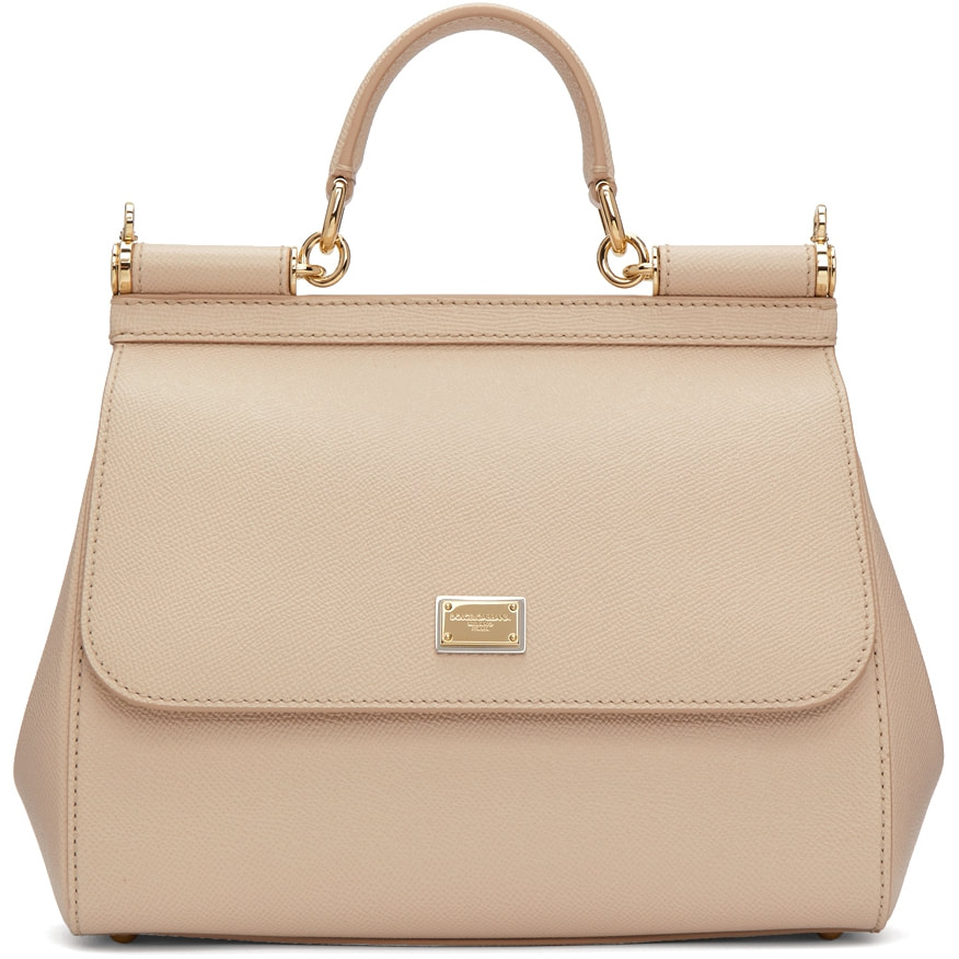 Dolce & Gabbana Rose Pink 'Sicily' Bag-Kate Middleton