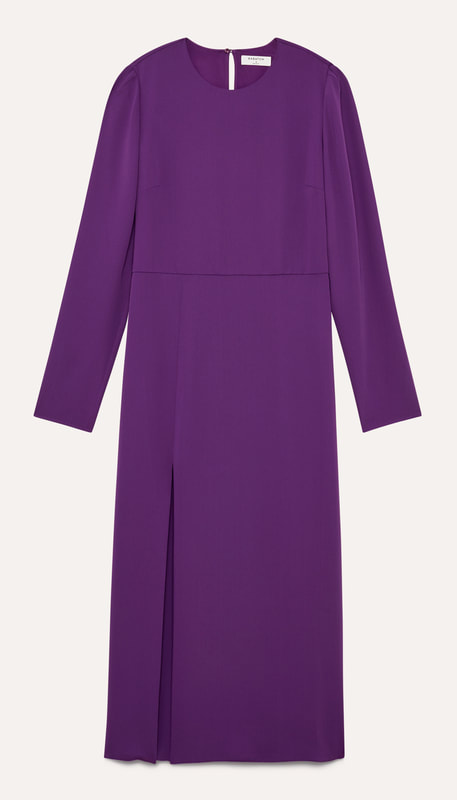 Babaton 'Maxwell' Purple Dress-Meghan Markle