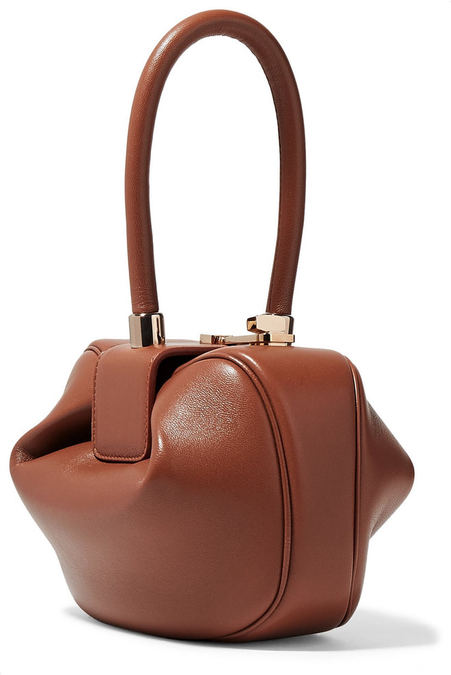 Gabriela Hearst Demi Leather Tote(Tan)-Meghan Markle