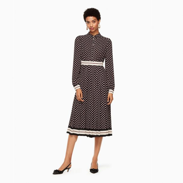 Kate Spade-Diamond Pleated Shirtdress-Kate Middleton