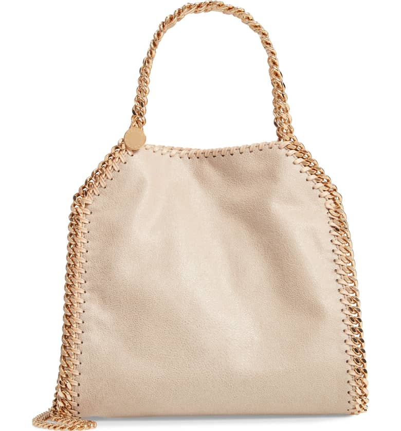 Stella McCartney Mini Falabella Shaggy Deer Tote-Meghan Markle