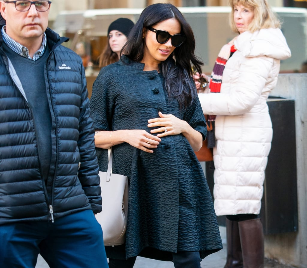 Mama Megs! Meghan Markle In New York City For Her Baby