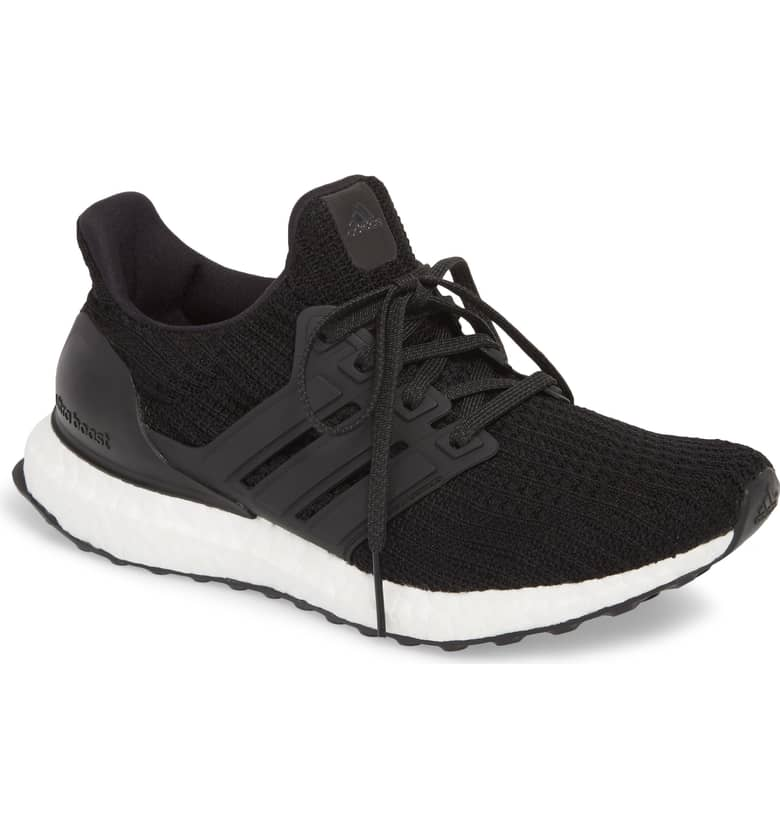 Adidas Black 'UltraBoost' Running Shoes-Meghan Markle