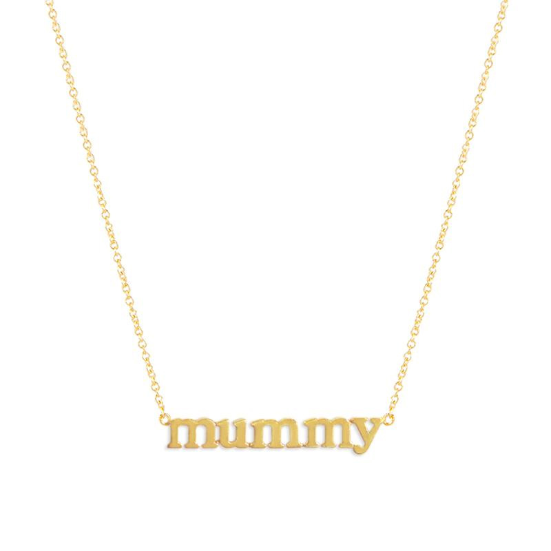 Jennifer Meyer 'mummy' Necklace-Meghan Markle