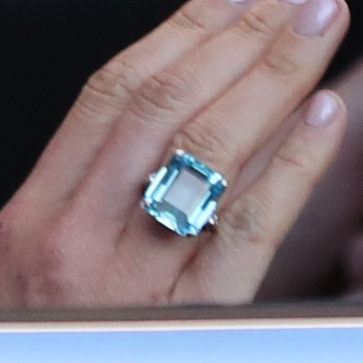 Aquamarine Ring-Princess Diana & Meghan Markle