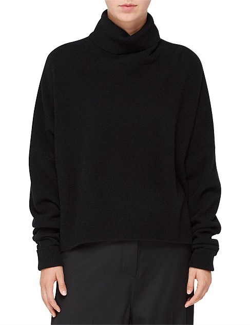 Jac + Jack Twain Black(turtleneck) Sweater-Meghan Markle