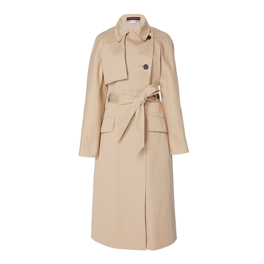Martin Grant Cotton Gabardine Trench Coat-Meghan Markle