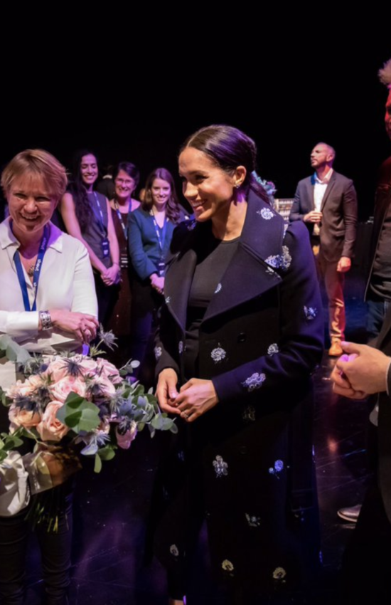 The Duke and Duchess of Sussex Make a Visit to Shout