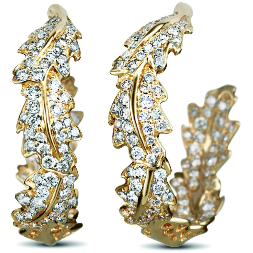 Asprey Oak Earrings-Kate Middleton