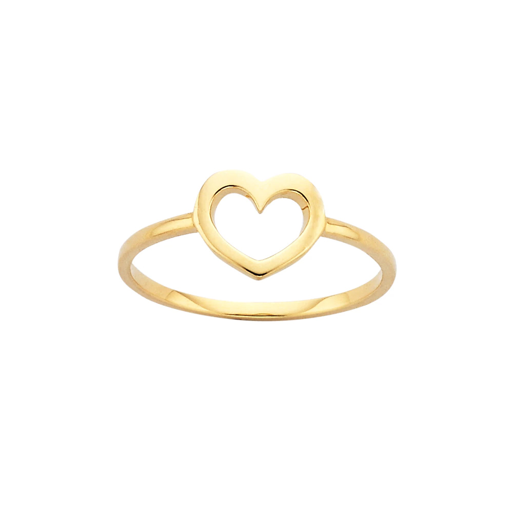 Karen Walker Gold Mini Heart Ring-Meghan Markle