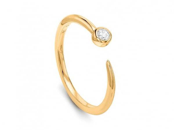 Missoma Gold Interstellar Ring-Meghan Markle