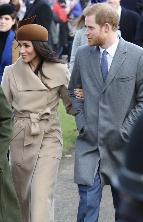 All Meghan Markle's Best Camel Coat Moments