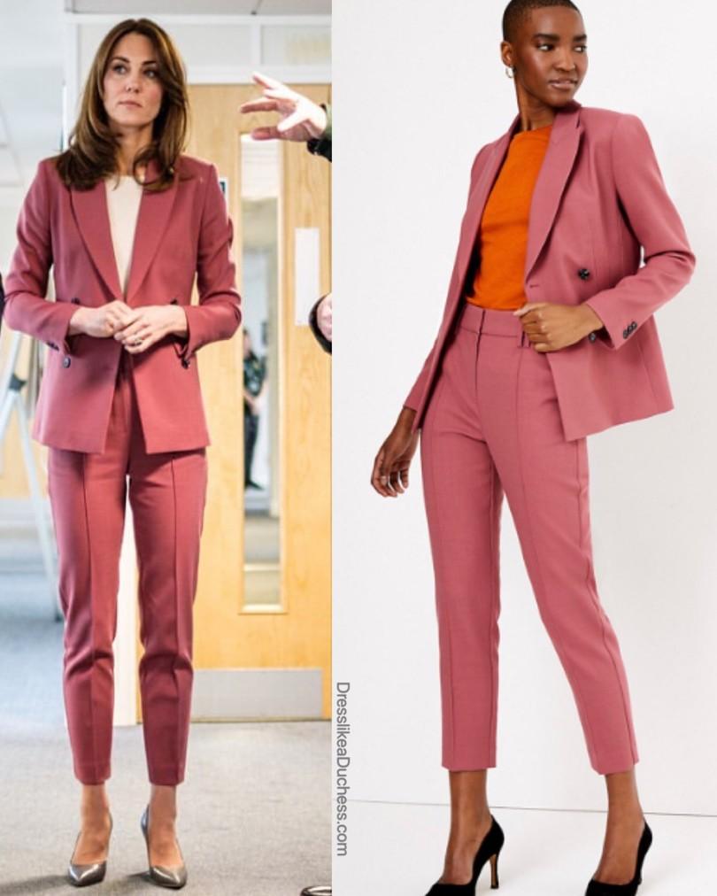 kate-middleton-pink-marks-spencer-pantsuit