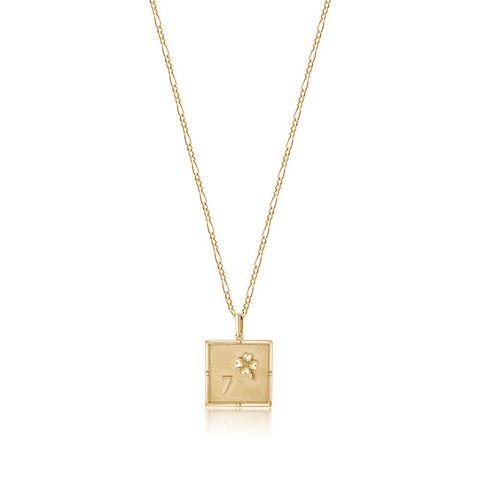 Edge of Ember Kismet Gold Charm Necklace-Meghan Markle